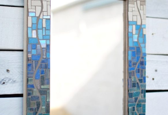 Blue-tan-mosaic-mirror-PH2015-1